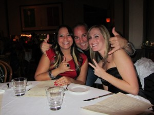 Dr. Jess Santucci, Orinda dentist, with his team at Don Giovanni's