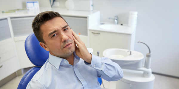 Chronic jaw pain may be a sign of TMJ disorder.